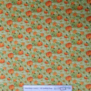 GRATEFUL-HARVEST-Pumpkins-Patchwork-Quilting-Fabric-Cotton-Material-FQ-50X55cm-111787034644