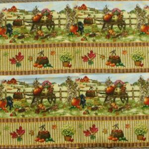 Patchwork-Quilting-Fabric-Autumn-Bounty-Border-Material-for-Patchwork-New-161348448280