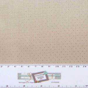 Patchwork-Quilting-Fabric-BROWN-WITH-PEARLESENCE-DOTS-Sewing-Cotton-FQ-50X55-cm-112116855576
