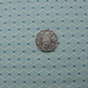 Patchwork-Quilting-Fabric-Blue-Breeze-Allover-Cotton-Quilt-Fat-Quarter-FQ-111317539356