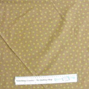 Patchwork-Quilting-Fabric-Brown-Tone-on-Tone-Starburst-Material-Cotton-FQ-New-161353957600