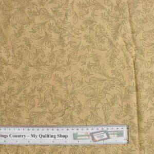 Patchwork-Quilting-Fabric-Fawn-Floral-Design-Cotton-Quilt-Fat-Quarter-FQ-111366898277