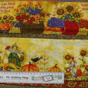 Patchwork-Quilting-Fabric-Harvest-Angels-Border-Material-for-Patchwork-New-161348462796