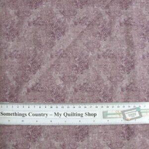 Patchwork-Quilting-Fabric-Lavender-Scrolls-Tone-on-Tone-Material-Cotton-FQ-New-161404941029