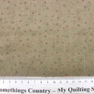 Patchwork-Quilting-Fabric-Life-Friends-Khaki-Hearts-Lynette-Anderson-50-x55-111603252208