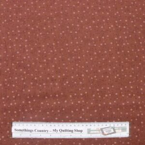 Patchwork-Quilting-Fabric-Life-Friends-Rust-Hearts-Lynette-Anderson-50-x-55-161608186294