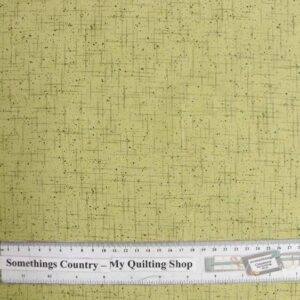 Patchwork-Quilting-Fabric-Lime-Green-Scuffs-Material-50x-55cm-FQ-New-161459357087