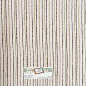 Patchwork-Quilting-Fabric-MADEMOISELLE-PINKGREEN-STRIPE-NEW-Cotton-FQ-50X55cm-111992205550