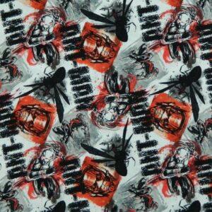 Patchwork-Quilting-Fabric-MARVELS-ANT-MAN-Material-Cotton-Fat-Quarter-50X55cm-161842865606