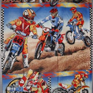 Patchwork-Quilting-Fabric-Motorcross-Material-Patchwork-Panel-60110-111590159478