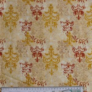 Patchwork-Quilting-Fabric-Orange-Swirls-Tonal-Cotton-Quilt-Fat-Quarter-FQ-161284551887