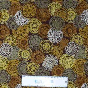Patchwork-Quilting-Fabric-RUSTIC-MANDELLAS-Sewing-Material-Cotton-FQ-50X55cm-162098197836