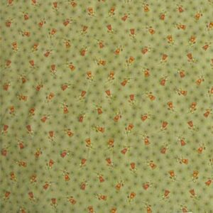 Patchwork-Quilting-Fabric-Sage-Green-with-Flower-Cotton-Quilt-Fat-Quarter-FQ-161284575876