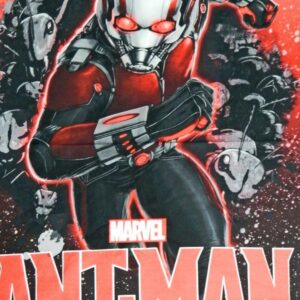 Patchwork-Quilting-Sewing-Fabric-Marvel-Ant-Man-Large-Quilt-Panel-90x110cm-New-161842792374