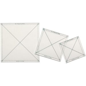 Quilt-In-A-Day-Fussy-Cut-Ruler-Set-New-Quilting-Fabric-Templates-111606385660