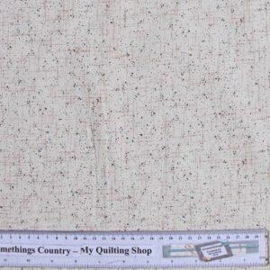 Quilting-Patchwork-Cotton-Sewing-Fabric-CREAM-SPECKS-FLECKS-50x55cm-FQ-NEW-112170861580